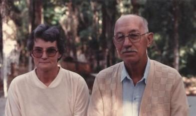 O pioneiro Hartwig Schade com sua esposa Herta Hassemer, também pioneira em Marechal Cândido Rondon. Imagem: Acervo Herta Hassemer Schade - FOTO 2 -
