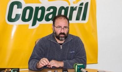 Técnico de futsal PC de Oliveira que deixou a equipe Copagril Futsal, em 25 de maio de 2014.  Imagem: Acervo Portal Guaira - FOTO 7 –