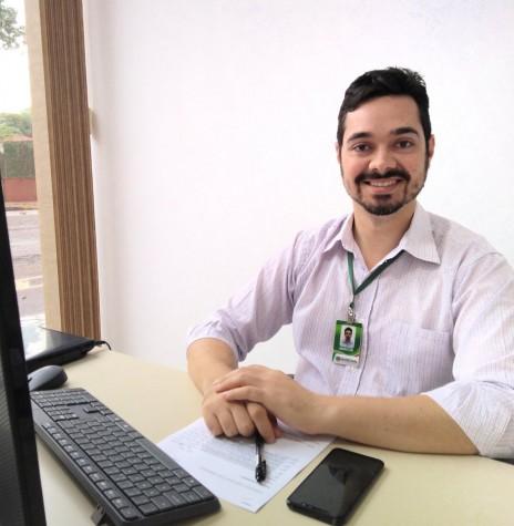 Marcos Vinícius Fediuk que assumiu a coordenação do Procon - Marechal  Cândido Rondon, em abril de 2019.  Imagem: Acervo pessoal - Crédito: Tioni de Oliveira - FOTO 3 -