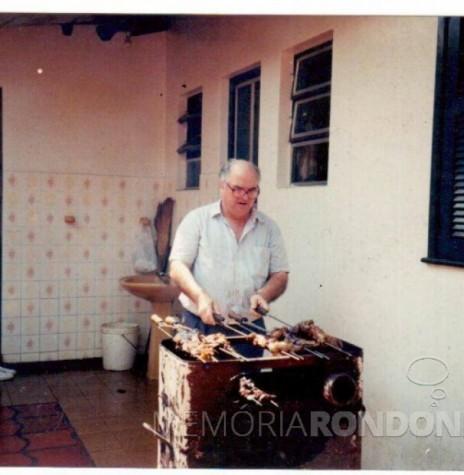João Natálio Stein, primeiro prefeito de Entre Rios do Oeste, nascido em junho de 1939. Imagem: Acervo da família - FOTO 1 -