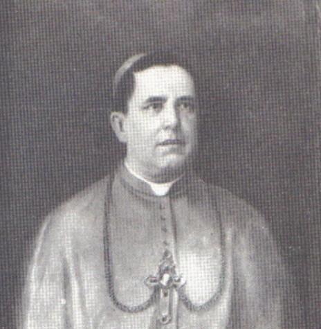 Dom José de Camargo Barros designado 1º bispo da diocese de Curtiba que abrangia os estados do Paraná e Santa Catarina.  Imagem: Acervo Arquidiocese de Curitiba- FOTO 2 -