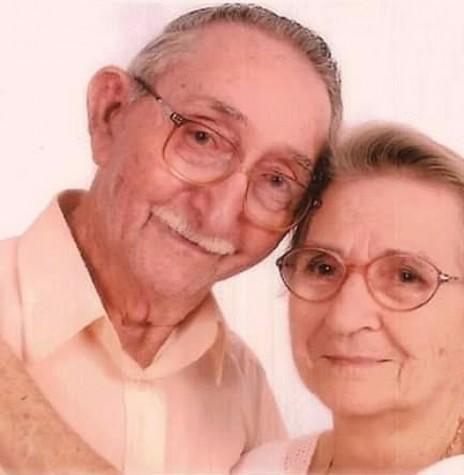 Pioneiro rondonense Nivo Dickel (com a esposa Irma Selvina), falecido em outubro de 2018.  Imagem: Acervo Dirlene Dickel - FOTO 15 -