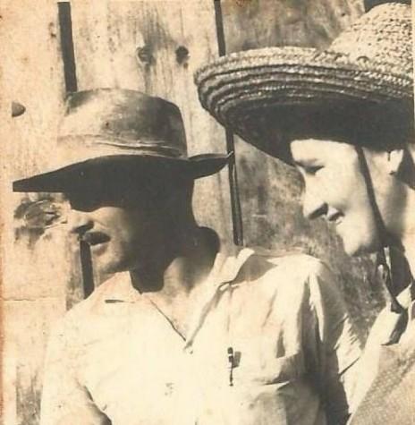 O saudoso maestro Sigismundo Heinrich e esposa Olga Weimann, na década de 1960, ele fundador do coral Martin Luther do Clube Aliança.   Imagem: Acervo Edela Ledi Heinrich - FOTO 2 -
