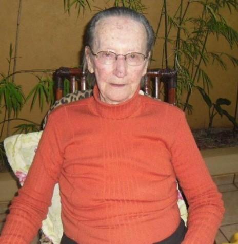 Pioneira rondonense Frida Albertina Hinkel falecida em final de junho de 2019.  Imagem: Acervo Marechal News - FOTO 8 -