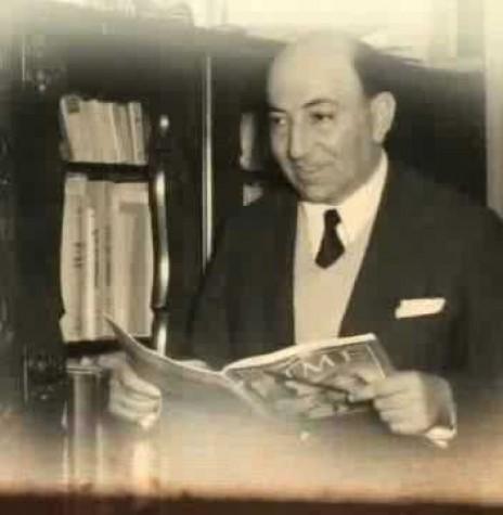 Nagib Chede Anrahão, pioneiro da televisão no Paraná.  Imagem: Acervo www.memóriaparanaense.com.br. - FOTO 4 -