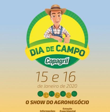 Banner do Dia de Campo Copagril 2020. Imagem: Acervo Projeto Memória Rondonense - Arte: Fernando Ames - FOTO 14 -