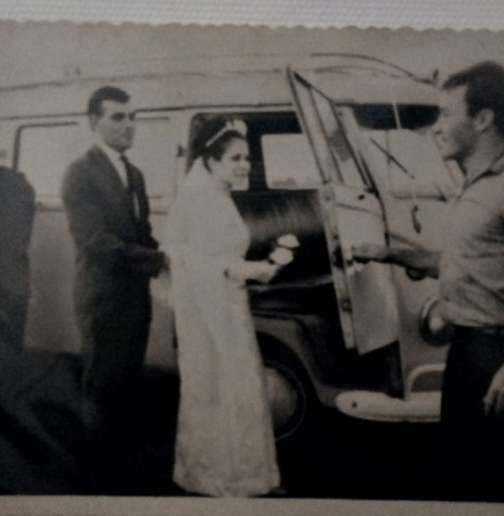 Casamento de Ermella Meier e Ilário Ermindo Kehl. Imagem: Acervo Graciela Marques Gonsalves - FOTO 5 -