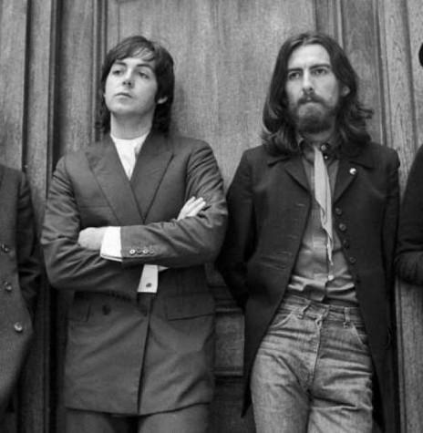 The Beatles, da esquerda à direita, Formada por John Lennon, Paul McCartney, George Harrison e Ringo Starr, banda que chegou ao fim em abril de 1970. Imagem: Acervo JC- Uol - FOTO 6 -