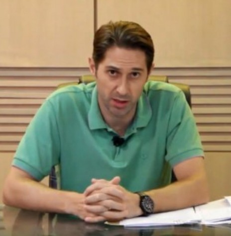 Prefeito Municipal Marcio Andrei Rauber, de Marechal Cândido Rondon. Imagem: Acervo O Presente - FOTO 8 -