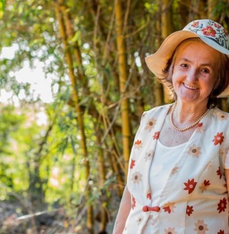 Pioneira rondonense Metha Elisa (nascida Scheifele) Lange, falecida em abril de 2020.  Imagem: Acervo da família - FOTO 10 -