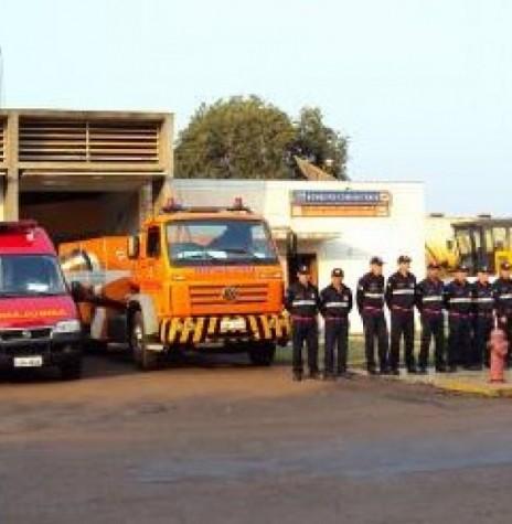 Unidade do Corpo de Bombeiros da cidade de Marechal Cândido Rondon (PR). Imagem: Acerevo Defesa Civil do Paraná - FOTO 3 -