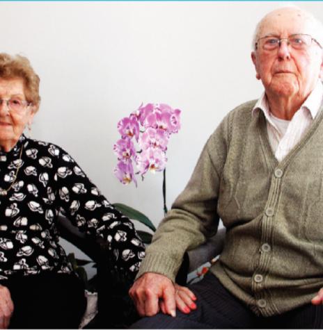 Casal Romilda e Wilmuth Rusch que comemorou Bodas de Madeira, em final de agosto de 2020. Imagem: Acervo O Presente - FOTO 20 -