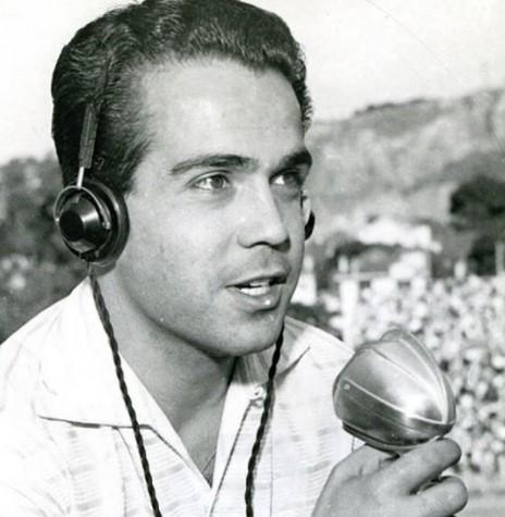 Narrador esportivo Pedro Carneiro Pereira, da Rádio Guaiba,  morto em outubro de 1973. Imagem: Acervo Rádioamantes.wordpress - FOTO 7 -