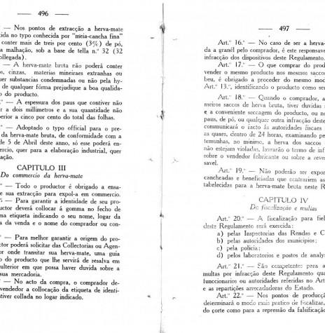 Página 2 do Decreto nº 718/1928.  Imagem: Acervo Arquivo Público do Paraná - FOTO 3 -