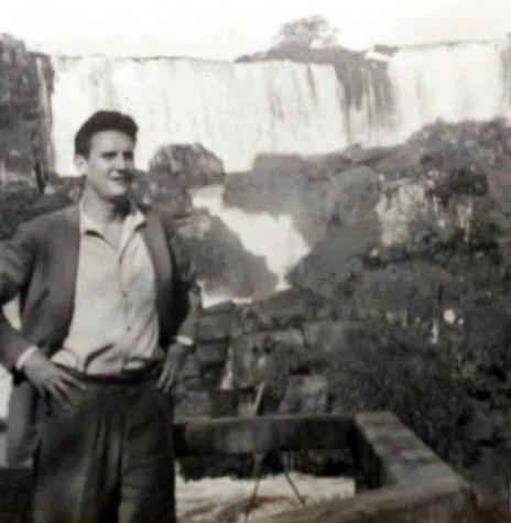Empresário cascavelense Sérgio Mauro Marcondes Festugato falecido em janeiro de 1976. Imagem: Acervo Pietro (Xico) Tebaldi - Cacsavel )  - FOTO 3 -
