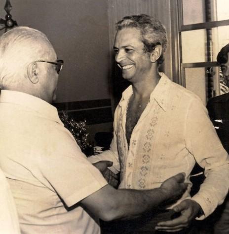 Fernando Fontana, professor, empresário e advogado, que palestrou em Marechal Cândido Rondon, em final de junho de 1987. Imagem: Maringá Histórica - FOTO 3 -