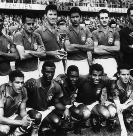 Seleção Brasileira de Futebol de 1958.  Imagem: Acervo GQ Globo - FOTO 6  -