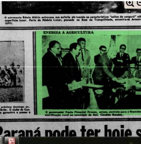 Destaque do jornal curitibano