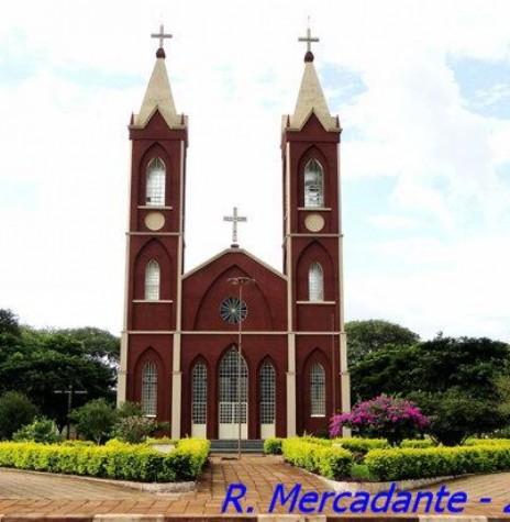 Igreja Católica de Vila Ipiranga, após a conclusão. Imagem: Acervo Wikimapia - Crédito: Ricardo Mercadante - FOTO 4 -