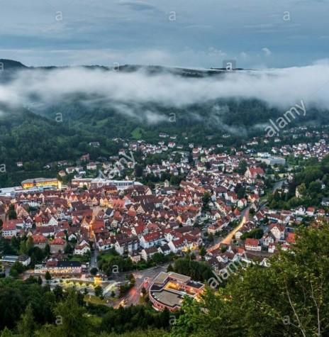 Bad Urach, Alemanha, cidade natal da pioneira rondonense Carolina (nascida Werz).  Imagem: Acervo Alamy - FOTO 4 -