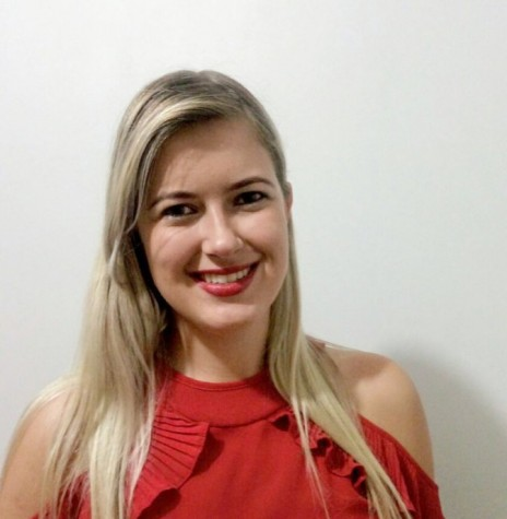 Zootecnista Vanessa Wommer, do CJC Treze de Maio, de Linha Pamital, eleita presidente  da ACJC para a gestão 2017/2018.  Imagem: Acervo Imprensa Copagril - FOTO 18 -