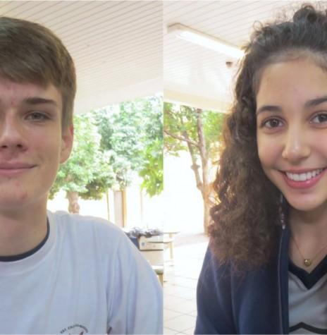 Estudantes rondonenses GaBriel Zanon Dahmer e Isabel Beatriz Feiden da Costa selecionados para o Parlamento Jovem Brasileiro 2018.  Imagem: Acervo O Presente - FOTO 7  -