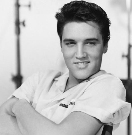 Cantor e compositor Elvis Presley falecido em agosto de 1977.  Imagem: Acervo Timbaú - FOTO 2 -