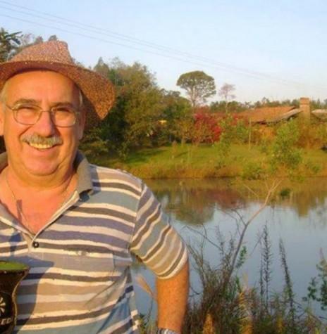 PlÍnio Ari Schütz, ex-vereador de Marechal Cândido Rondon, pelo então distrito de Quatro Pontes, falecido em 21 de fevereiro de 2016. Imagem: Facebook - 21.02. 16 - FOTO 9 -