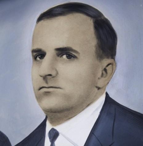 Empresário rondonense Harry Pydd, primeiro presidente eleito da Associação Comercial e Empresarial de Marechal Cândido Rondon (ACIMACAR). Imagem: Acervo da Câmara de Vereadores - FOTO 1 -
