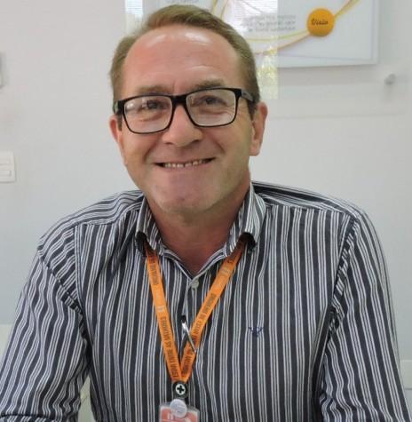 Helio José Dalgallo que assumiu a gerência regional da Copel, na cidade de Toledo, em abril de 2019.  Imagem: Acervo AquiAgora.net - Crédito Cristiane Kemp - FOTO 5 -