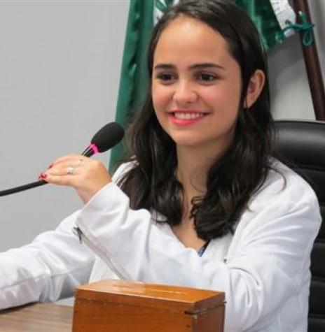 Estudante Nayara Camila Jacomini , eleita presidente da ARES para a gestão 2017/2018.  Imagem: Acervo O Presente -  Crédito: Cristiano Marlon Viteck - FOTO 5 -