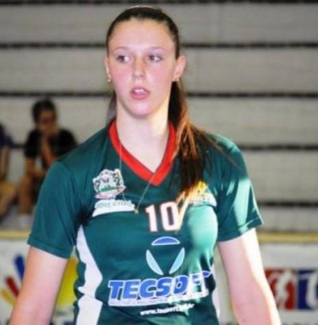 Atleta rondonense Maiara Cristina Basso.  Imagem: Acervo Secretaria Municipal de Esporte e Lazer - FOTO 12 -