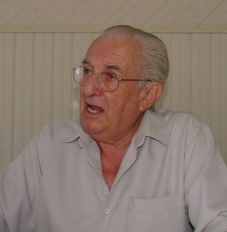 2º prefeito de Toledo, Egon Pudell, tempo que Marechal Cândido Rondon, era distrito daquele município.  Imagem: Acervo Memória Rondonense - FOTO 3 -
