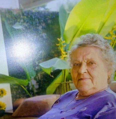 Pioneira rondonense Elisa Herta Meier falecida em dezembro de 2004.  Imagem: Acervo Sérgio Gilberto Meier - FOTO 3 -