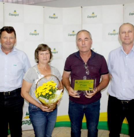 3° lugar: Vilmar Fülber,  no Resultado Maior Quantidade de Leite.  Imagem: Acervo Imprensa Copagril - Crédito Carina Ribeiro - FOTO 31 -