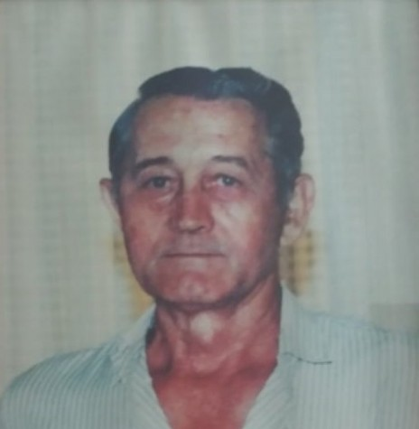 Pioneiro rondonense Kuniberto Theo Barbian falecido em final de abril de 1995.  Imagem: Acervo da família. -- FOTO 8 -