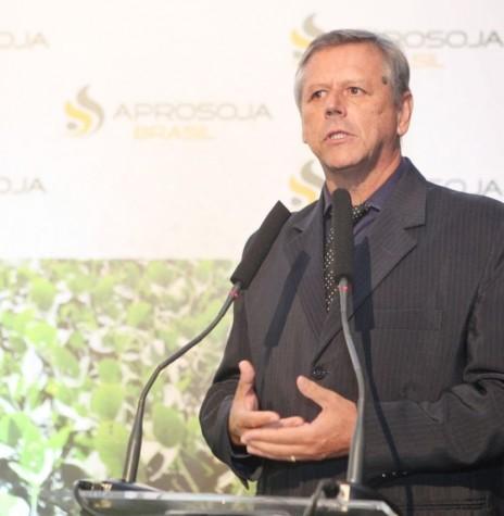 Ruralista goiano Bartolomeu Braz Pereira que assumiu a presidência da Aprosoja Brasil, em maio de 2018. Imagem: Acervo Aprosoja Brasil - FOTO 5-