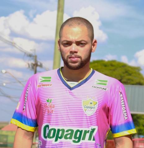 Goleiro Daniel de Souza Cardoso que deixou o elenco da Copagril Futsal, em abril de 2018. Imagem: Acervo Imprensa Copagril - FOTO 7 -