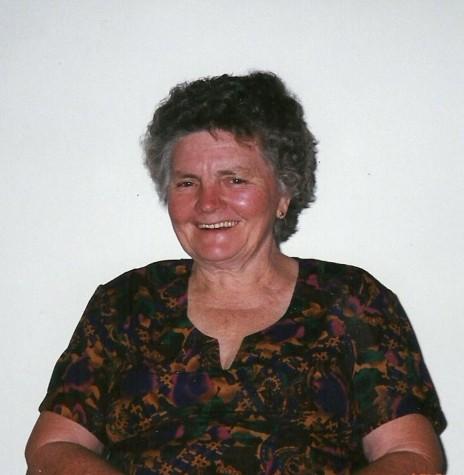 Pioneira Tereza (Grohmann) Römer, falecida em agosto de 2006. Era casada com o pioneiro Ludwig Federico Römer.  Imagem: Acervo de Selma Römer Krack - FOTO 6 -