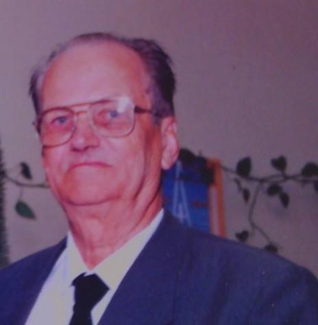 Pioneiro rondonense Alfredo Krause, falecido em julho de 2005.  Imagem: Acervo Clecio Krause - Naranjal - Paraguai
