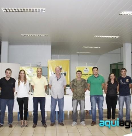 A nova diretoria da AACC em 13 de fevereiro de 2015.  Imagem: AquiAgora.net  - FOTO 4 -