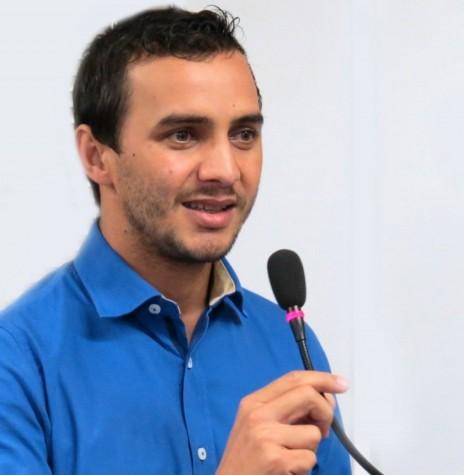Vereador Ronaldo Pohl que se desligou do grupo de situação do prefeito municipal Marcio Rauber.  Imagem: Acervo Portal Rondon - FOTO 2 -