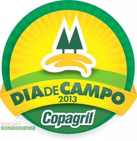 Dístico do Dia de Campo Copagril 2013. Imagem: Acervo Imprensa Copagril - FOTO 4 -