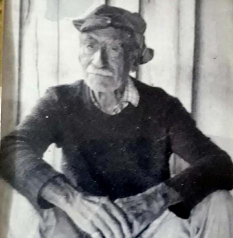 Pioneiro Sandálio Prates Santander, falecido em abril de 1993. Imagem: Acervo Eustáquio Prates Santander - FOTO 2 -