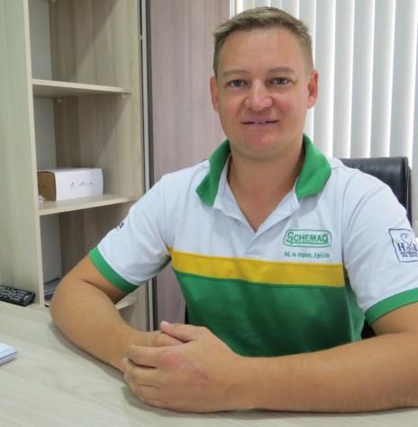 Empresário Marcio Schons eleito presidente da ACIBRA gestão 2018/2020.  Imagem: Acervo O Presente - Crédito: Mirely Weirich - FOTO 6 -