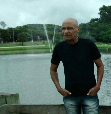 Músico José Crispim que atuou em bandas de Marechal Cândido Rondon, falecido em final de janeiro de 2017.  Imagem: Acervo de Sandro Smaniotto - Primavera do Leste - Mato Grosso - FOTO 5 -
