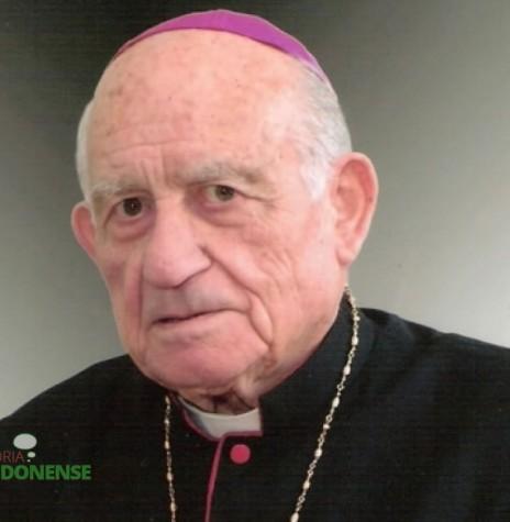 D. Armando Cirio  foi nomeado o primeiro arcebispo da Província Eclesiástica de Cascavel.  Imagem: Acervo Jornal ValeVerde -  FOTO 1 -