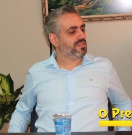 Dorival de Oliveira Júnior que assumiu a presidência da Comissão Provisória do PSDB, de Marechal Cândido Rondon.  Imagem: O Presente Digital - Crédito: Joni Lang - FOTO 4 -