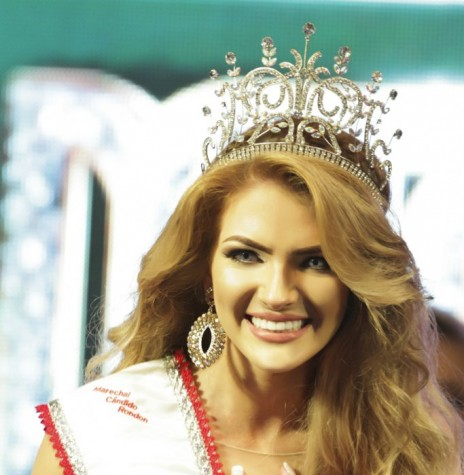 Aryala Stefani Wommer eleita Miss Marechal Rondon 2016, em 07 de maio de 2016.  Imagem: Acervo Imprensa-PM-MCR Crédito: Ademir Herrmann - FOTO 8 -