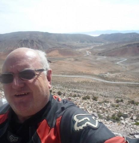 Radialista Miguel Fernandes Reichert que foi vítima de acidente de trânsito no dia 19 de fevereiro de 2017, na cidade de Cambé, norte do Paraná. Imagem: Acervo AquiAgora.net - FOTO 7 –